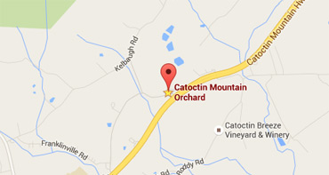 Directions to Catoctin Mountain Orchard
