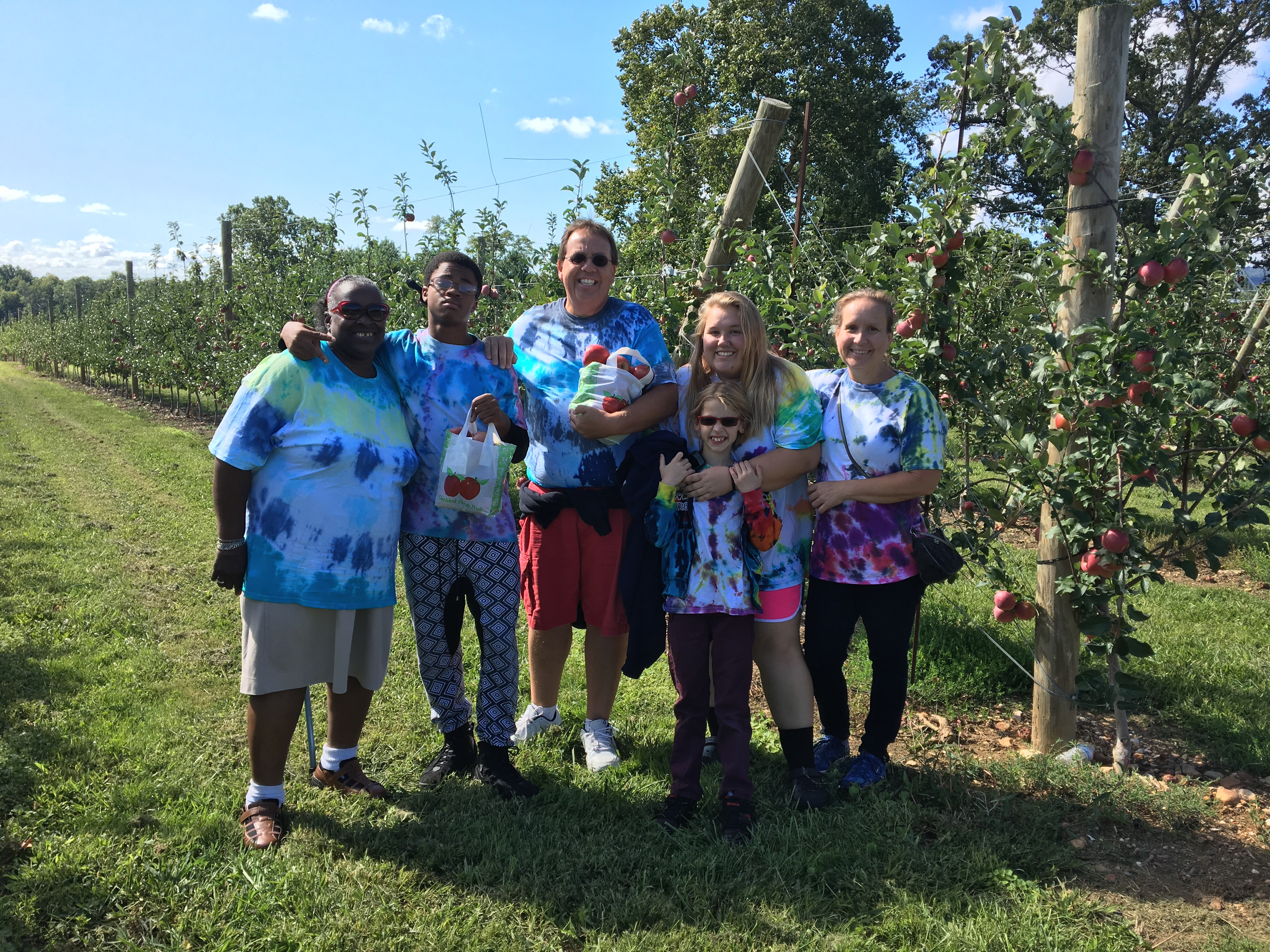 PYO Apple Tie-Dye Family