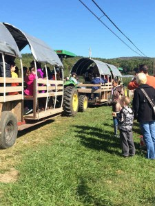 Thurmont, Hagerstown and Frederick MD- Going to Pick Apples From the Orchard